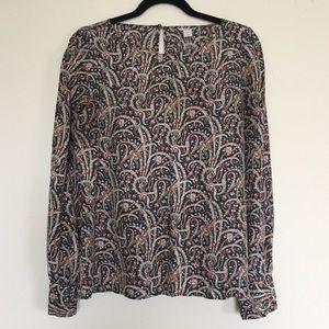 J. Crew Silk Blouse